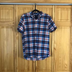 American Eagle short-sleeve button down